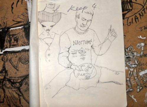 Sketchbook page (2009)